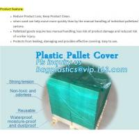 Buy cheap customized PE pallet cover bag, Waterproof pallet covers/ Poly Bags, Plastic Pallet Covers Gusseted Pallet Covers Pallet from wholesalers