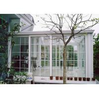 Buy cheap White Color Aluminium Glass Greenhouse Luxury Imperial Design System from wholesalers