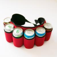 Buy cheap Promotional gift beer can bottle coolers neoprene printing cup sleeve stubby holder from wholesalers