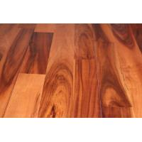 Buy cheap finger jointed 3 strips natural acacia hardwood flooring from wholesalers