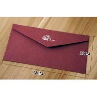 Buy cheap Creative high-grade stamping texture paper business invitation envelope from wholesalers