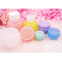 Buy cheap Customized Color Mini Cosmetic Jars , Empty Non Spill Beauty Cream Jars product