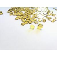 Buy cheap Hthp Synthetic Single Crystal Diamond Plates-MCD,Yellow Mono Diamond plate from wholesalers