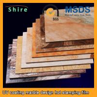 Buy cheap PET Heat Transfer Film Hot Stamping Foil Roll With Strong Covering Power from wholesalers
