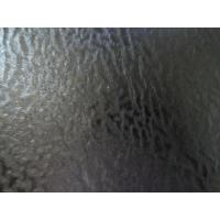 Buy cheap PU Embossed Decoration Leather Black Color Thickness 1.0mm with Abrasion Resistant from wholesalers