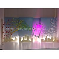 China Multi Color Hanging Style Resin Magic Mirror Statues Hand Carved Technics on sale