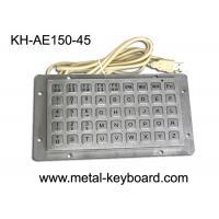 Buy cheap Anti - vanda Keyboard with 45 Keys , Industrial Metal Keyboard product