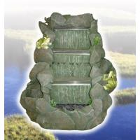 Buy cheap Polyresin Rockery Waterfall Fountain from wholesalers