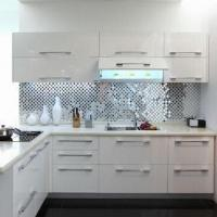 Buy cheap Kitchen Cupboard in Black and White Series, Made of MDF/MFC Materials from wholesalers