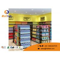 Buy cheap Cold - Rolled Steel Supermarket Gondola Shelving Easy Assemble Light Duty Type from wholesalers