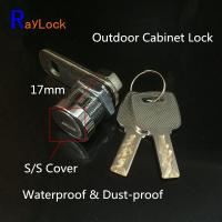 Buy cheap RayLock 17mm key alike cam lock for slot machine metal cabinet door locking from wholesalers