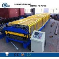 Buy cheap Automatic Colors Steel Plate Corrugated Sheet Roll Forming Machine With Double Layer from wholesalers