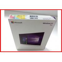 Buy cheap MicrosoftSoftware Windows 10 Pro Retail Box / Pro Pack  with USB flash 100% activated online OEM license from wholesalers