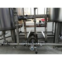 Buy cheap SS304 / 316 / Copper Nano Brewing Systems 1000l Volume PU Foam Insulation from wholesalers