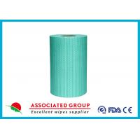 Buy cheap Household Disposable Spunlace Non Woven Roll Printing & Dyeing Available 30~120GSM product