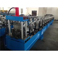 Buy cheap Round Shape Seamless Gutter Roll Forming Machine Single Chain 15 Stations from wholesalers