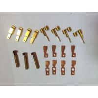 Buy cheap Customized Metal Stamping Brass, Punching Metal Stamping DiesCopper Contact Parts from wholesalers