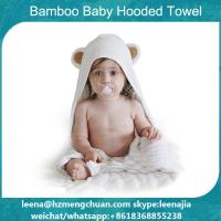 Buy cheap bamoo baby hooded towel with ears from wholesalers