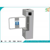 Out Door Heavy Duty Automatic Turnstiles , Stainless Steel ID Card Swing Barriers