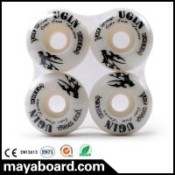 Quality UGIN MS2401 Quad skate wheel 52mm 95A PU wheels for skateboard for sale