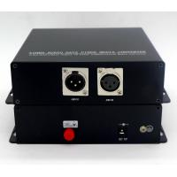 Buy cheap XLR Audio converter over 1-ch bi-directional audio converter to fiber from wholesalers