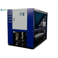 Buy cheap High Efficient 40hp (-5C) Glycol Water System Milk Air Cooled Water Chiller from wholesalers