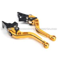 China CNC Finished Motorcycle Brake Clutch Lever CBR600RR Shorty Levers on sale