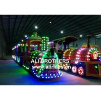 Buy cheap Train Rides Electric Amusement Park Trains For Kids Birthday Parties Sale from wholesalers