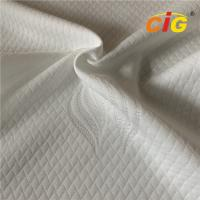 Quality 100% polyester DTY 180gsm mattress ticking fabric from China factory for sale