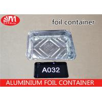 Buy cheap 1000ml Volume Aluminium Foil Container A032 Food Grade Material Environmental Protection from wholesalers