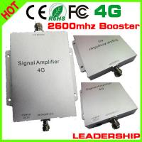 Buy cheap Newest 65dB Mobile Signal Booster Repeater 4G booster 4G amplifier 2600MHZ Cell Phone Ampl from wholesalers
