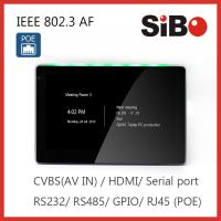 Buy cheap Office Room Booking Control Display 7 Inch Wall Mounting Android POE Tablet from wholesalers