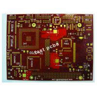 Buy cheap FR - 4 1.6mm 6 Layers Immersion Gold Multilayer PCB for Food Cleaning Inspection Machine from wholesalers