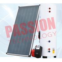 Buy cheap Natural Circulation Split Solar Water Heater Flat Plate Copper Connection from wholesalers