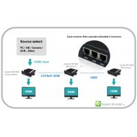 Buy cheap VGA Video over IP Extender with Audio can chian able HDMI and RS232 and IR from wholesalers