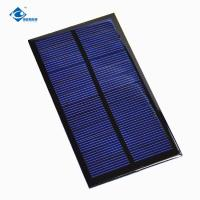 Buy cheap 0.9W Custom Small Size Epoxy Resin Solar Panel 6V For solar power novelties ZW-11060 23g from wholesalers