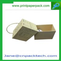 Buy cheap OEM Printed Logo Paper Gift Box Presentation Box Rigid Cardboard Set-UP Box from wholesalers