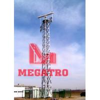 Buy cheap Angular steel torch tower from wholesalers