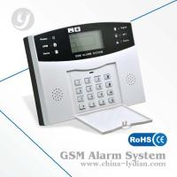 Buy cheap Wireless LCD Speech Household Gsm Security Alarm , 433MHz Burglar Alarm from wholesalers
