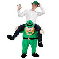 Buy cheap Carry Me Ride On Adults Shoulder Ride Costume Leprechaun Piggy Back Costume from wholesalers