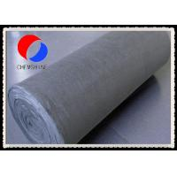 Buy cheap PAN Based Flexible Carbon Fiber Mat for Heat Treating Furnaces , Low Ash Content from wholesalers