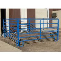 Buy cheap 4ft x 9ft Cattle Horse yard panels for United States Farm 40mm tubing cattle fence panels from wholesalers