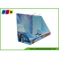 Buy cheap Pop Corrugated Counter Display Box With Hooks for Retail CDU091 from wholesalers