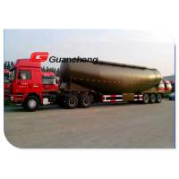 Buy cheap Large Volume Cement Bulker Trailer , Durable Tri - Axle Cement Tanker Trailer product