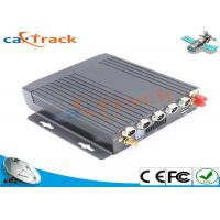 Buy cheap 4 Channel GPS Mobile DVR With WIFI 3G 4G Vehicle Video Monitor product