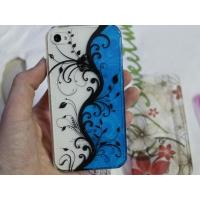 Buy cheap White / Black / Red Good Quality Water Droplets Flower Hard Case for iPhone 5 5G from wholesalers