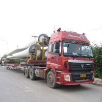 Buy cheap Wind Blade Carrier Trailer for transport 45 meters to 56 meters wind blade from wholesalers
