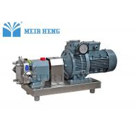 Buy cheap Soap Industrial Food Grade Electric Pump / SS316L Three Phase Rotor Stator Pump from wholesalers