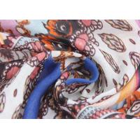 Buy cheap 50 D Silk Crepe Fabric Combed Yarn , CDC Silk Georgette Fabric 16 Mm from wholesalers