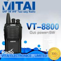 Buy cheap High Performance VITAI VT-8800 Professional Walkie Talkie VHF UHF Two Way Radio FM Transceiver 5W 16CH CE Certificate from wholesalers